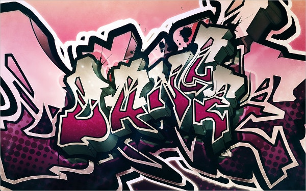 Free Dance Graffiti Background
