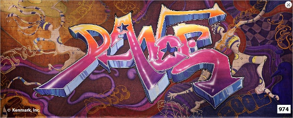 Dance Graffiti Backdrop