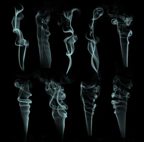 13 Photoshop Smoke Brushes