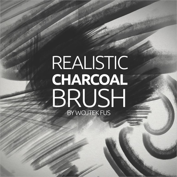 Realistic Charcoal Brush