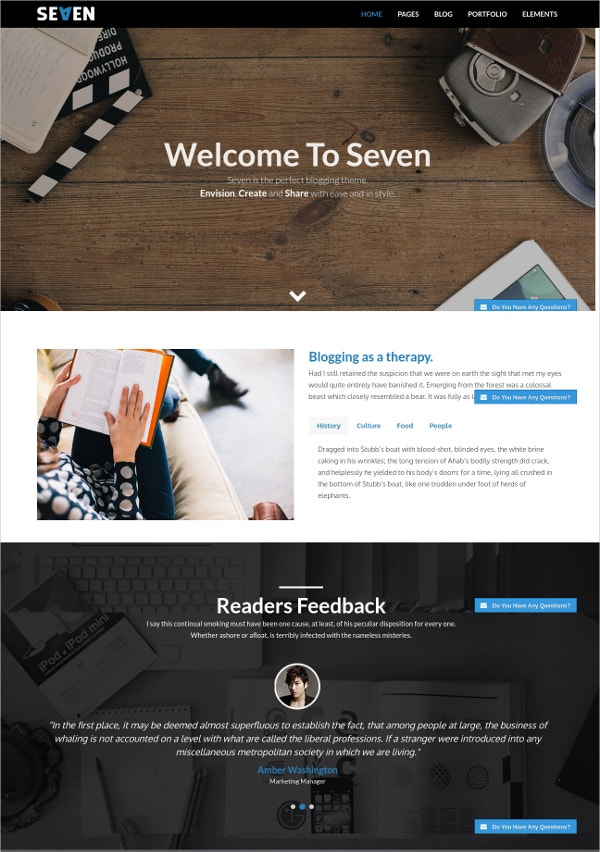 seven stylish wordpress theme1