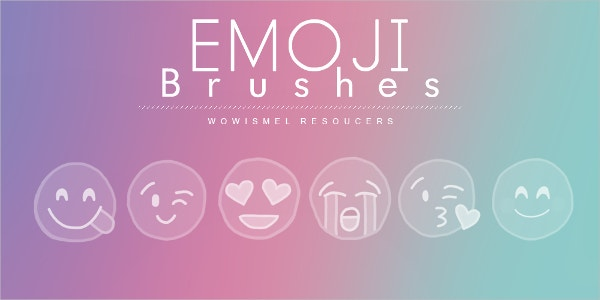 emoji photoshop brushes