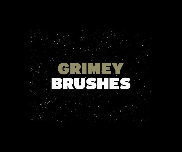 grimey brushes photoshop
