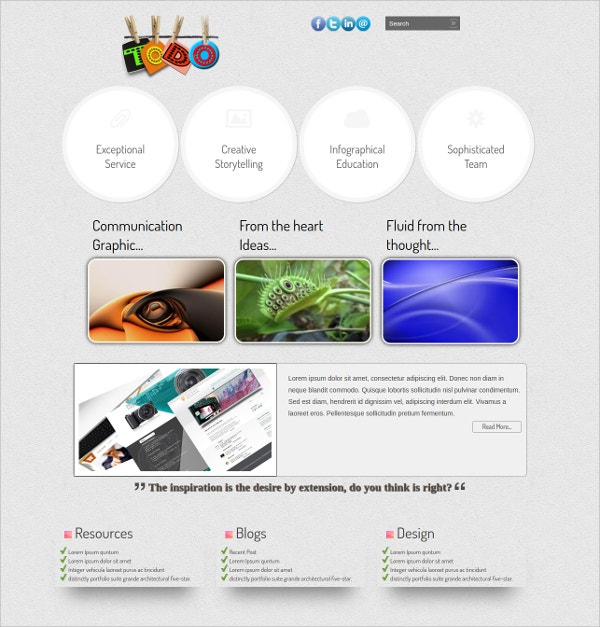 Free Educational HTML5 Theme