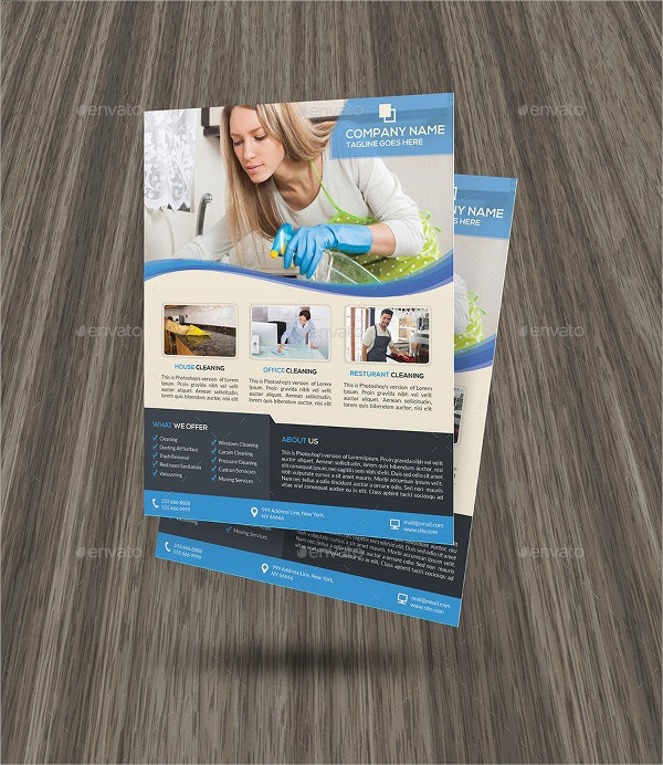 21 Cleaning Service Flyers Free Psd Ai Eps Format Download