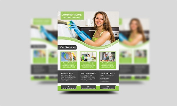 Company Cleaning Services Flyer