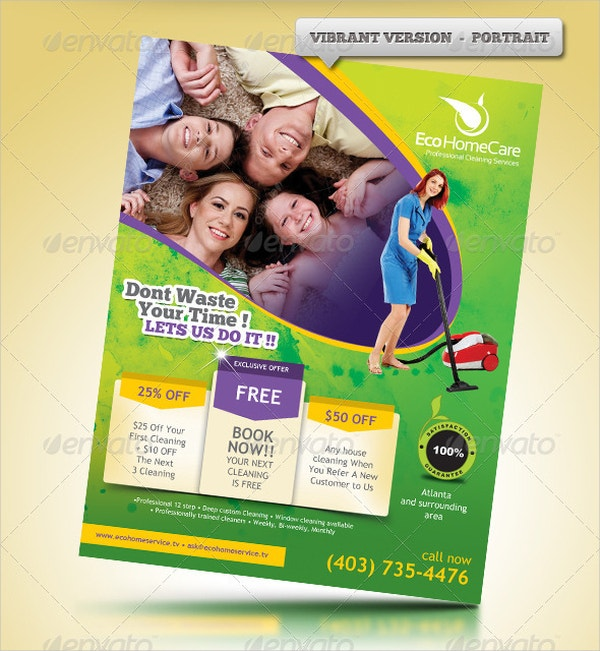 cleaning services advertising templates - 19 cleaning service flyer designs templates psd ai