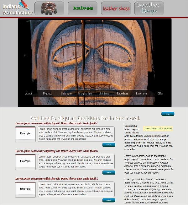 Free Indian HTML5 Theme