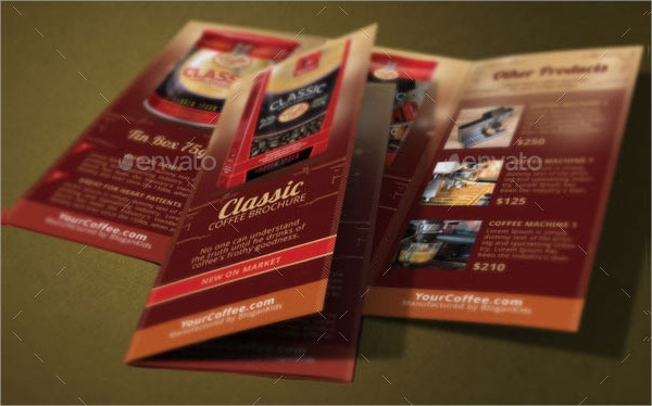 Coffee Brands Brochure Template