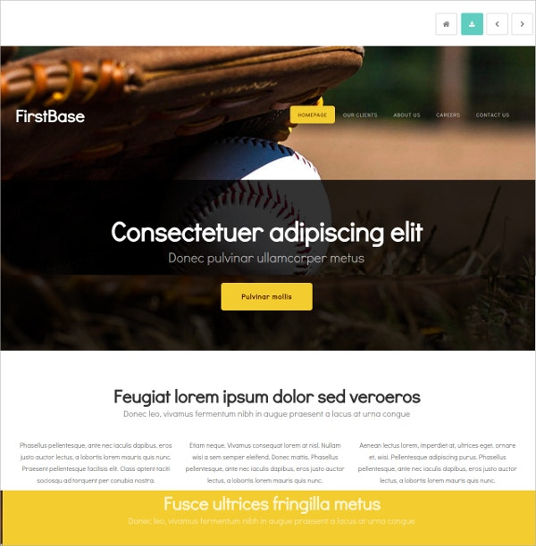 Free Awesome HTML5 Theme