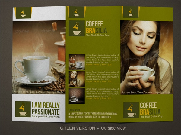 Classic Coffe Shop Brochure