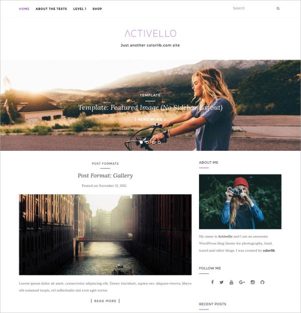 Stunning Free Responsive WordPress Blog HTML5 Theme