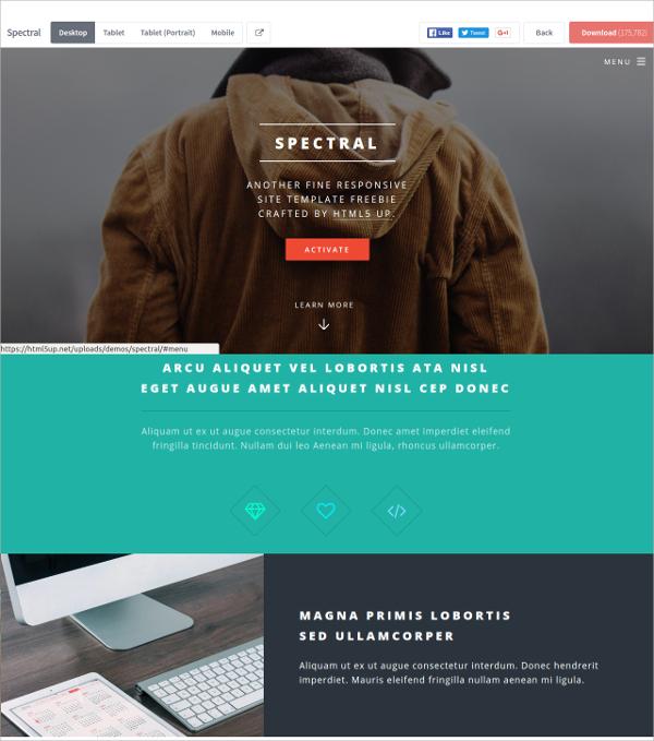 Free Created Responsive HTML5 Theme