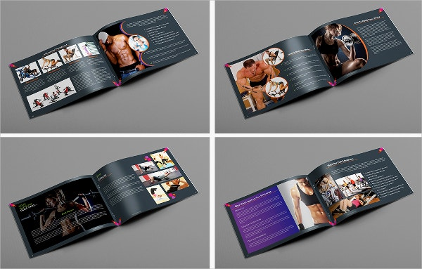 Fitness & Healthcare Brochure
