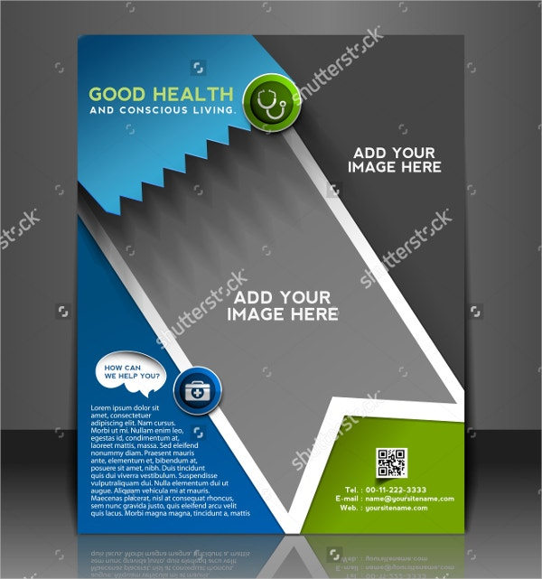 good healthcare brochure template