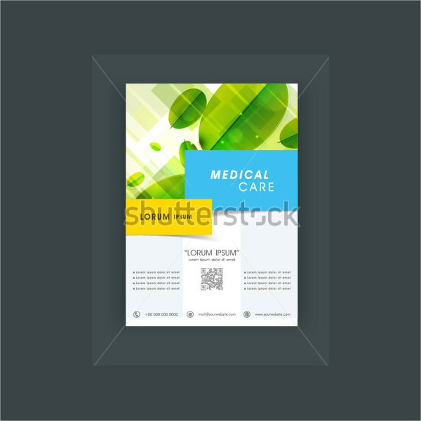 creative healthcare brochure template