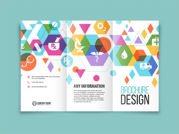 Healthcare company Brochure design