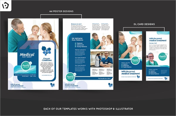 18 healthcare brochure templates free psd ai vector for Healthcare brochure templates