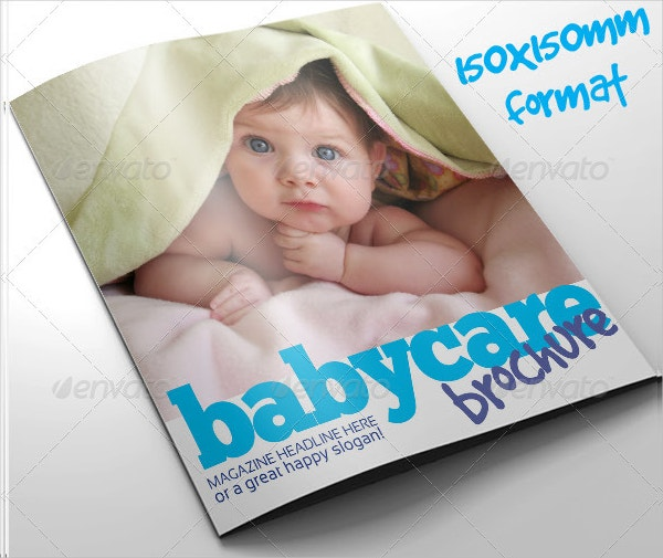 baby healthcare brochure