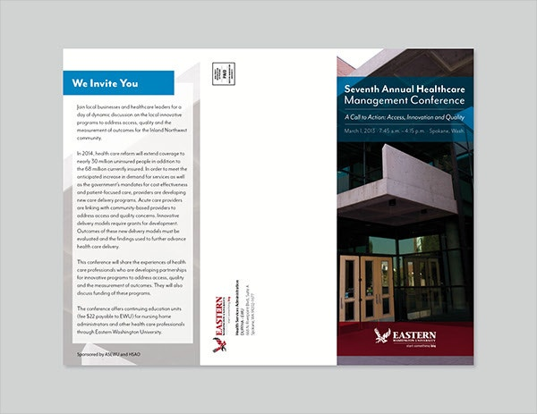 Healthcare Management Brochure
