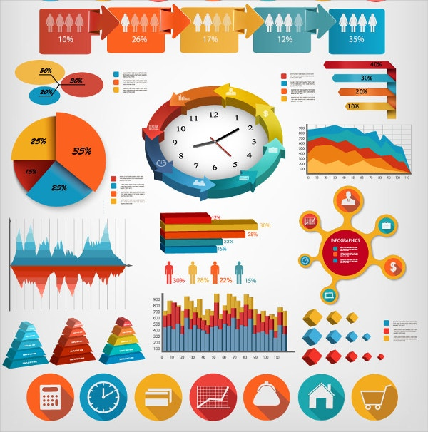 Infographics Business Elements Design