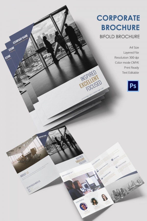 Freebie of the Day - Corporate Bi-Fold Brochure