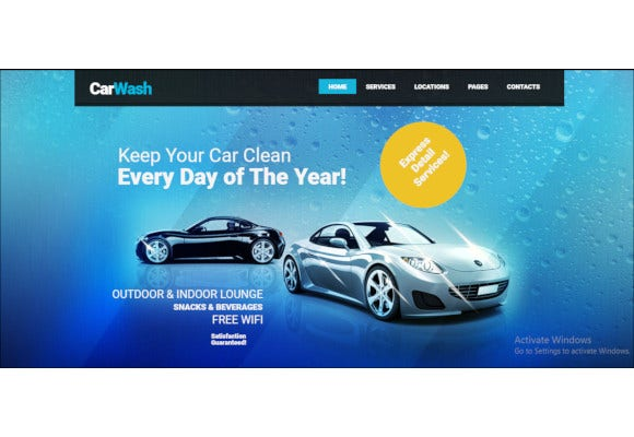 auto mechanic repair shop wordpress theme