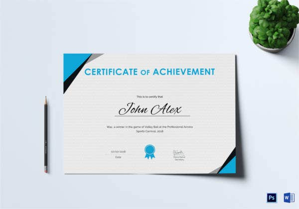 certificate-of-athletic-achievement-template