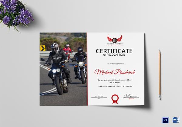 certificate-of-bike-riding-appreciation