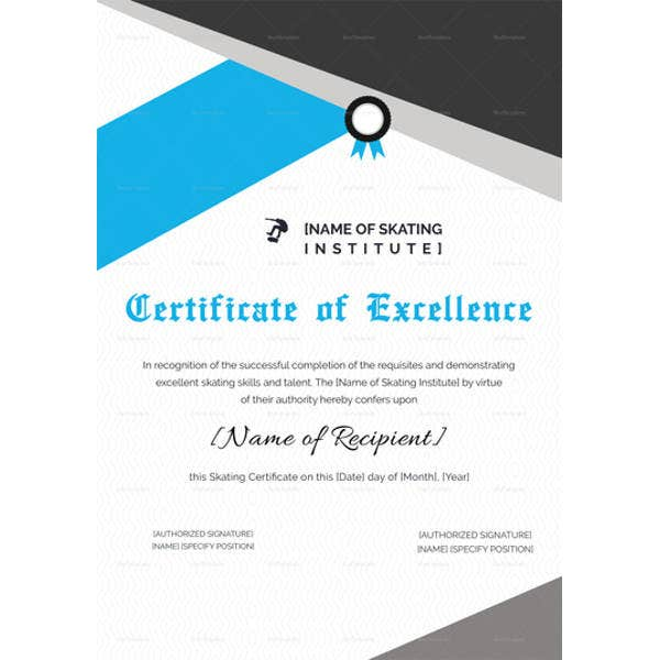 certificate-of-excellence-for-skating-template