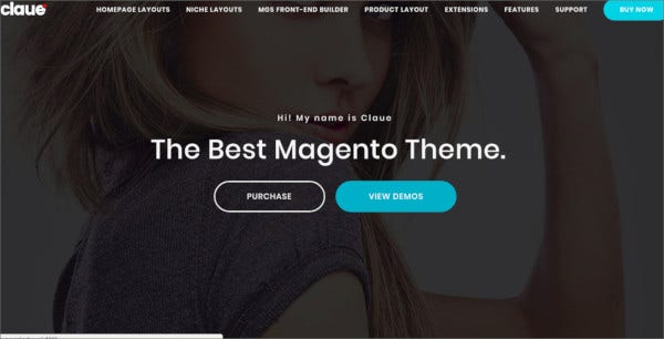 clean minimal magento 2 and 1 theme