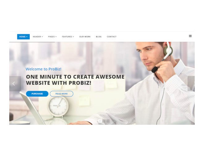 creative multipurpose business template
