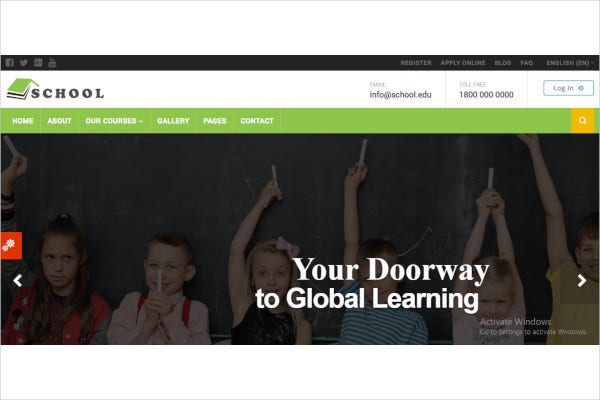 education-responsive-moodle-theme