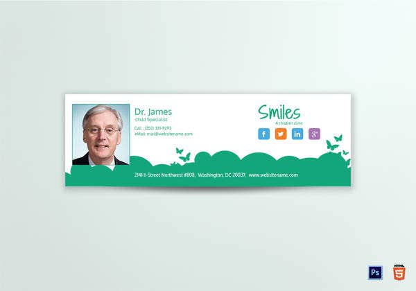 email-signature-for-children-clinic