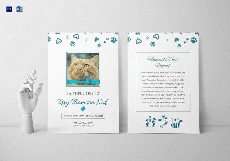 faithful pet funeral program template 788x552