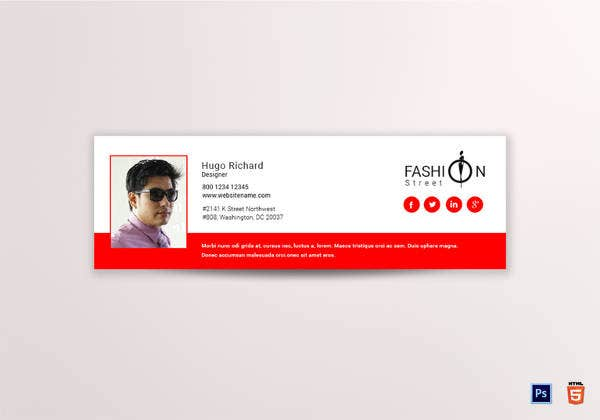 fashion-designer-email-signature-template