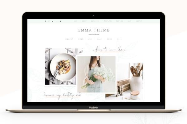 foodie blog ecommerce genesis