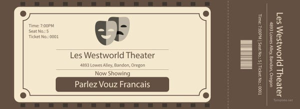 24+ Ticket Template - Free PSD, AI, Vector EPS Format Download ...