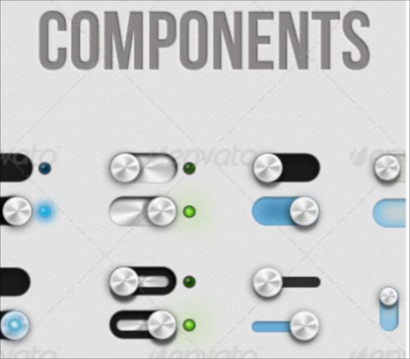 gui components for project