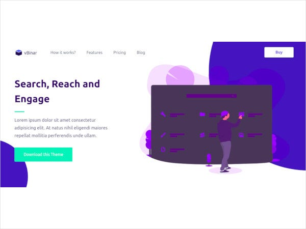 hml5 product landing page