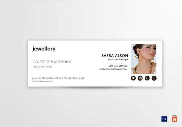 jewellery-email-signature-template
