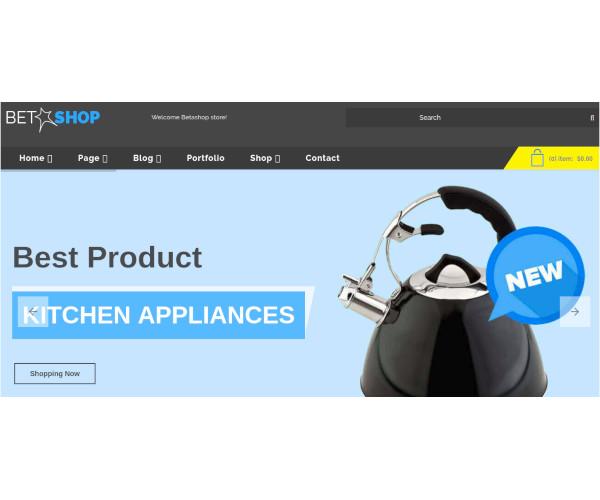 kitchen appliances virtuemart template