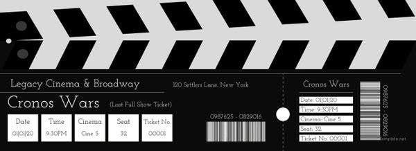 Movie Admission Ticket