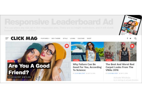 news magazine wordpress blog theme