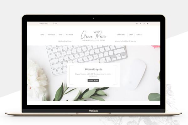 portfolio ecommerce genesis theme