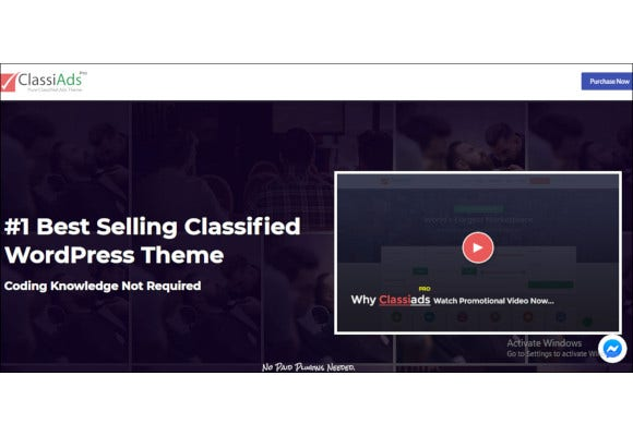 premium classified wordpress theme