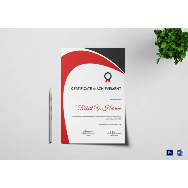 rafting-achievement-certificate-template