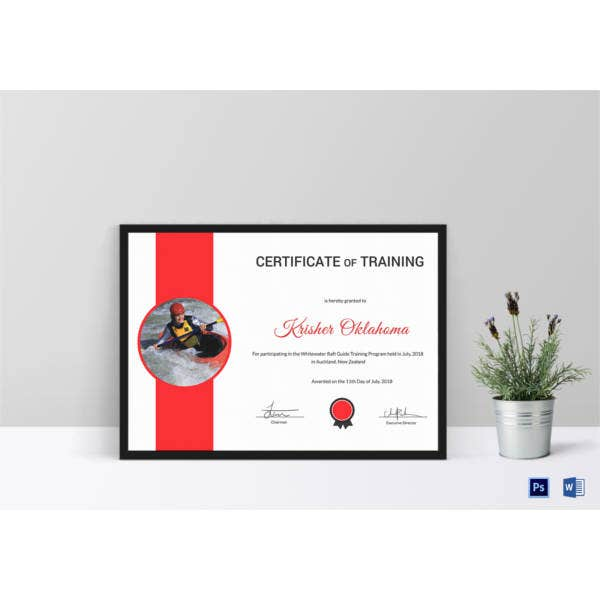 rafting-participation-certificate-template