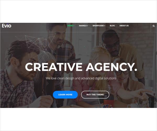 responsive business creative joomla template