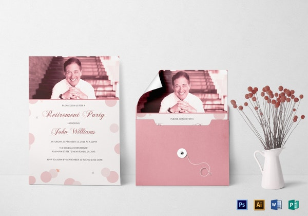 retirement-party-invitation-card-templates